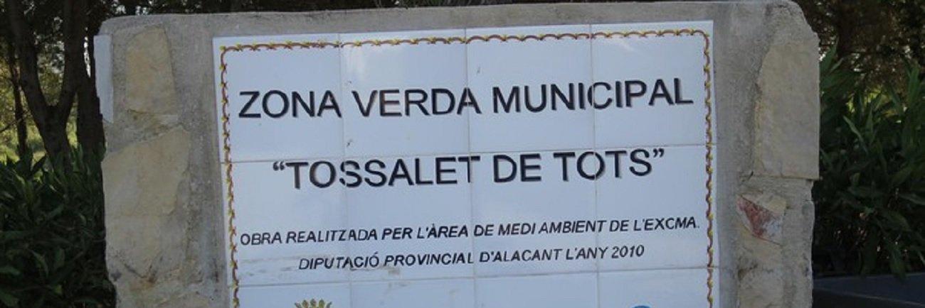 Zona verde municipal Tossalets de tots