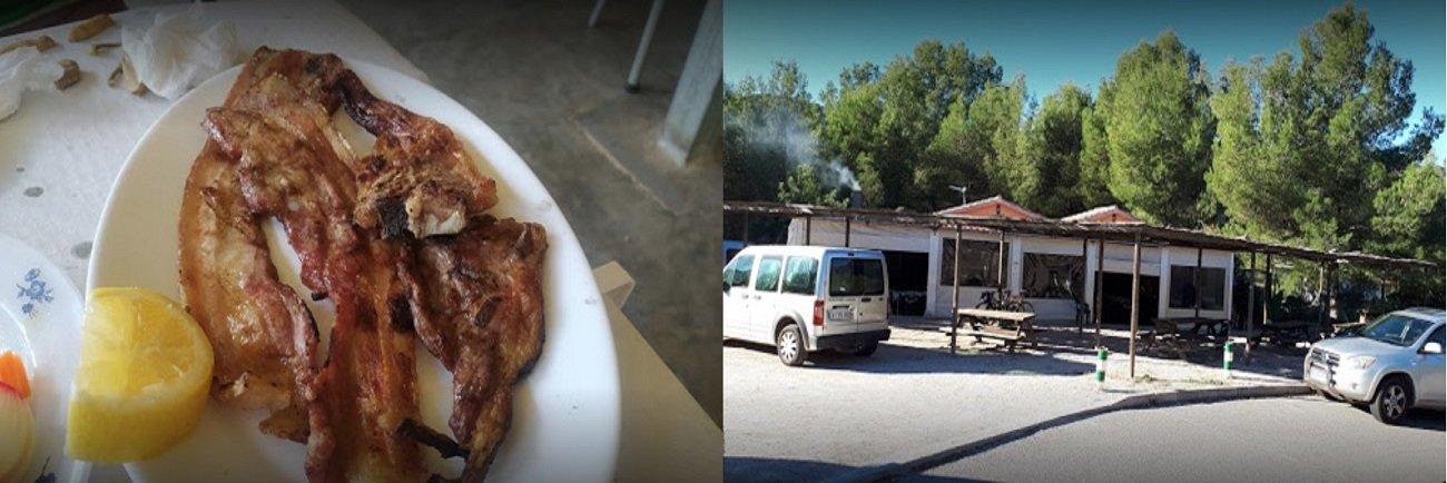 Cocina autóctona Xiringuito Castell de Forna