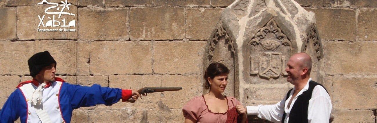 Visita teatralizada al Patrimonio Histórico de Xàbia