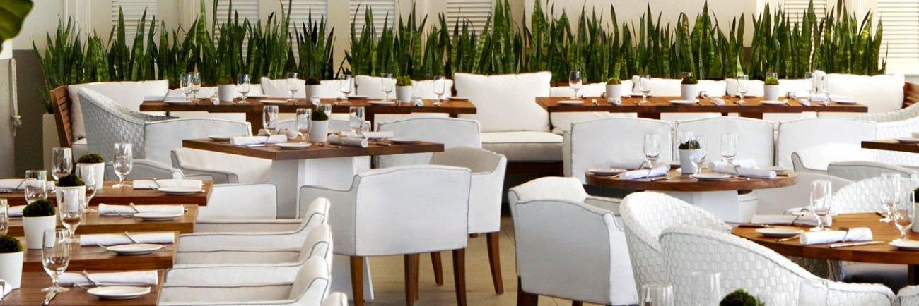 Restaurante y barbacoa en Hotel Soul Beach