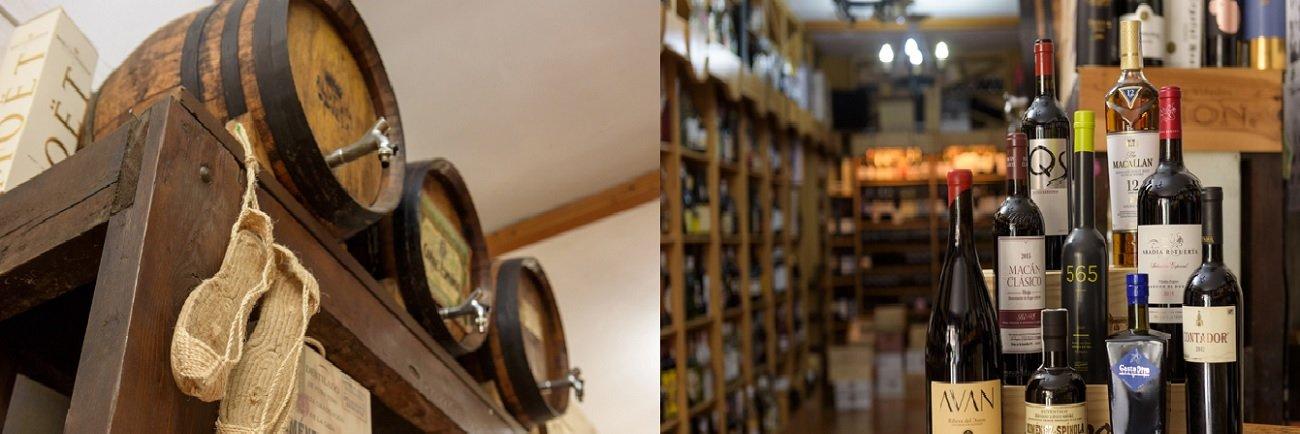 Venta de vinos y licores de bodegas Miguel