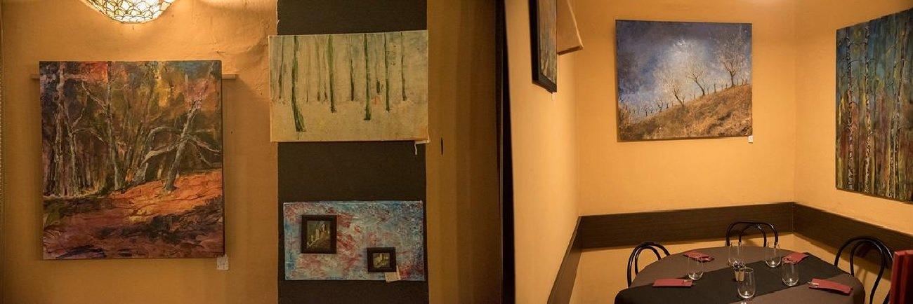 Exposiciones de Pintura en Restaurante Arrels Racó Gastronòmic