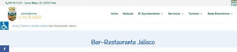 Bar Restaurante Jalisco