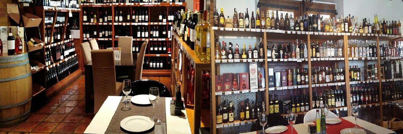 Venta de vinos y licores en Bodega del Puerto
