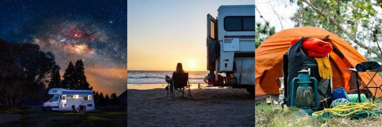 Camping-Cabañas