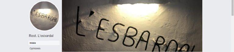 Bar Restaurante l'Esbardal