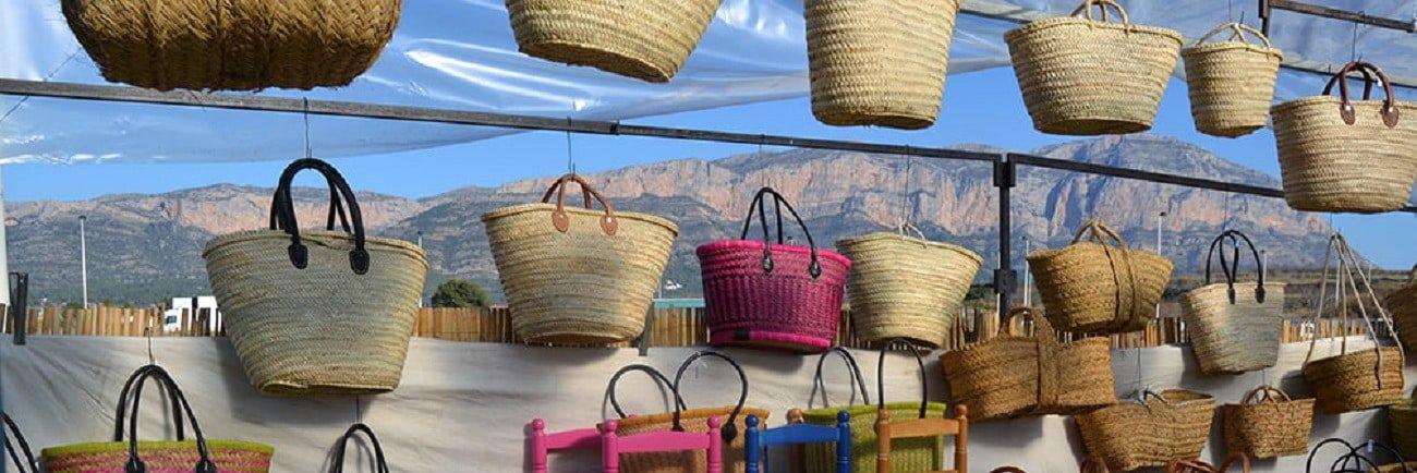 Feria de artesania de Xábia histórica