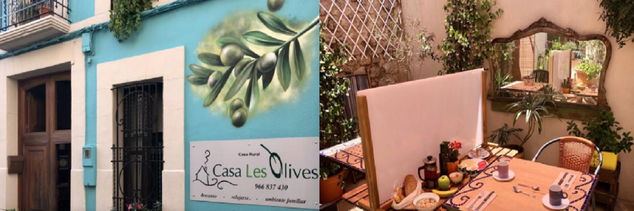 Alojamiento en Casa Les Olives